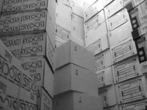 boxes of paper